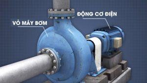 Cấu tạo bên trong của máy bơm nước ly tâm